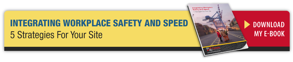 Integrating Workplace Safety And Speed - 5 Strategies For Your Site