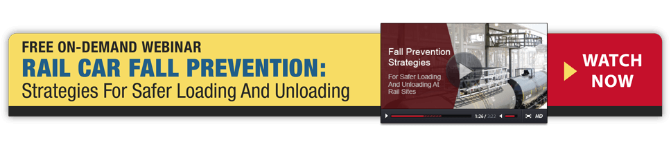 Free Webinar - Rail Car Fall Prevention: Strategies For Safer Loading And Unloading