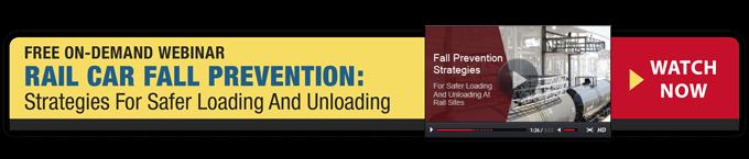 Free Webinar - Rail Car Fall Prevention: Strategies For Safer Loading And Unloading