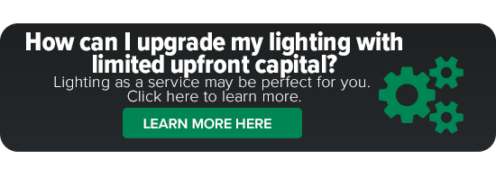 How can I upgrade my lighting with limited upfront capital?_Lighting as a service
