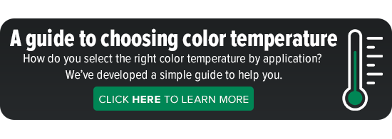 A guide to choosing color temperature