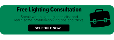 Schedule a free lighting consultation with a Regency lighting specialist to troubleshoot and plan