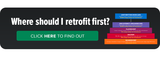 Where should I retrofit first? Use this lighting pyramid to decide.