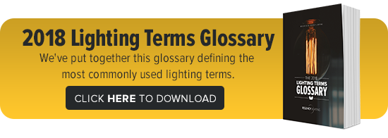 2018 Lighting Terms Glossary