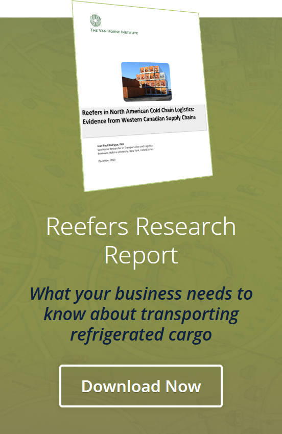 Reefers in North American Cold Chain logistics