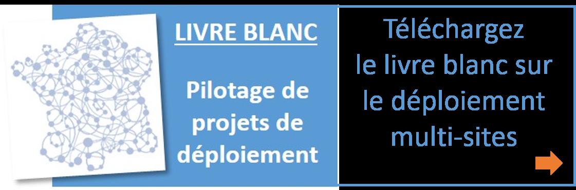 Téléchargez le livre blanc sur le pilotage de projets de déploiement