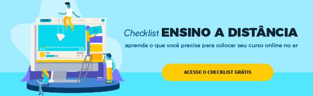 checklist para colocar seu EAD em um lms