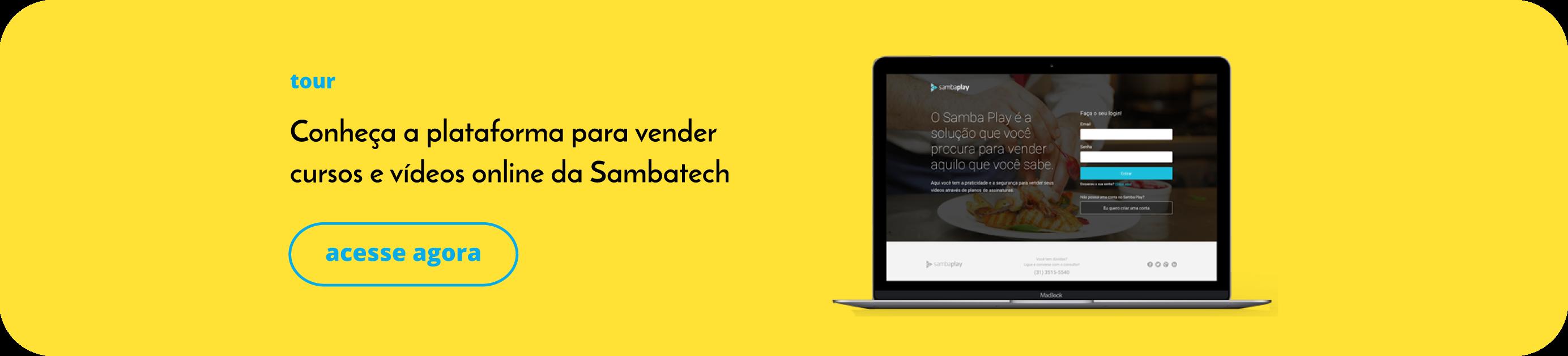 Tour - Samba Play - Sambatech