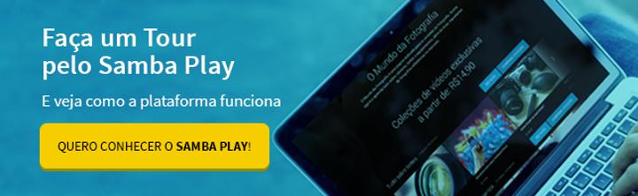 teste o samba play como plataforma EAD