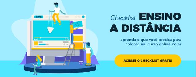 checklist ead no brasil e evasao na ead
