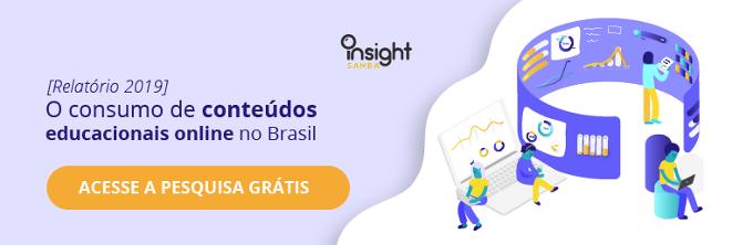 relatorio da pesquisa sobre cursos online insight samba