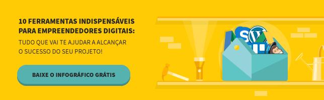 infografico com ferramentas indispensaveis para empreendedores digitais