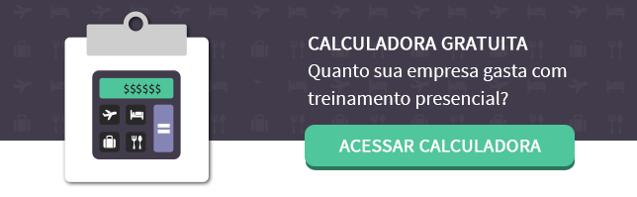 calculadora de gastos para educacao corporativa