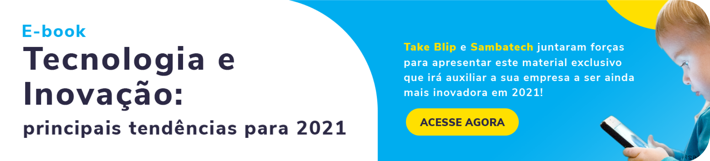 Ebook Tecnologia e Inovação: Tendências 2021  | Sambatech