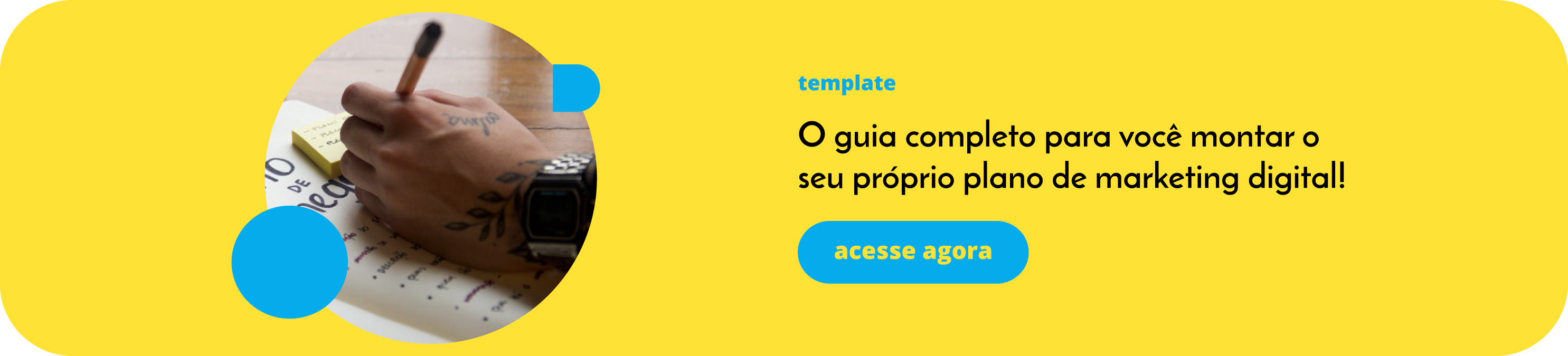 Template Plano de marketing digital