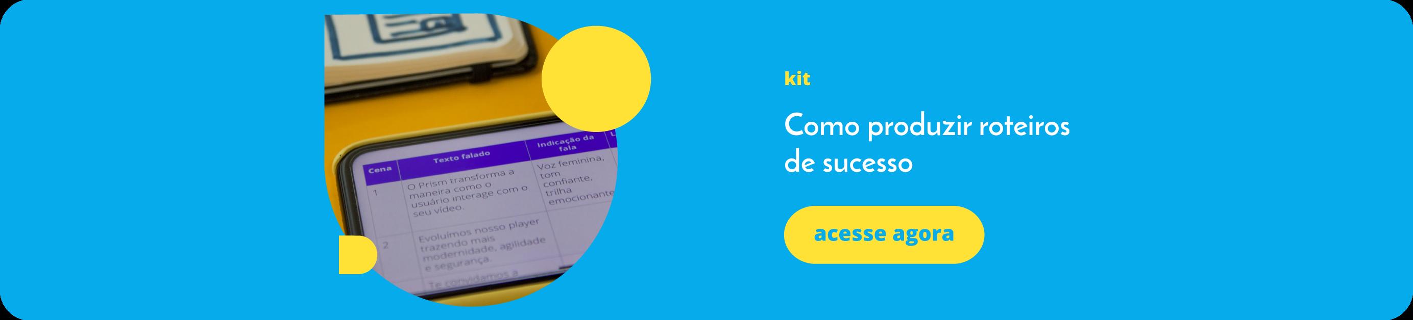 Kit- Como produzir roteiros de sucesso