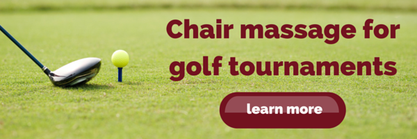 chair massage for golf tournaments