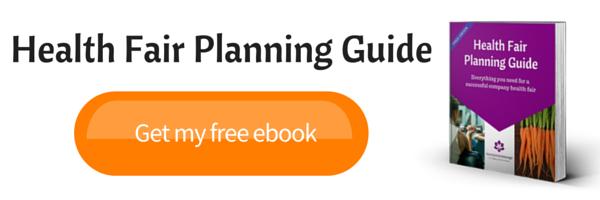 free health fair planning guide
