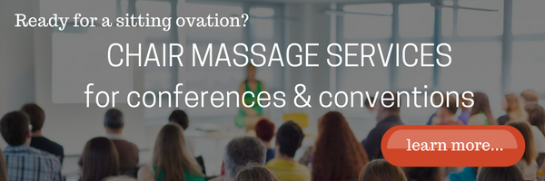 chair massage service for a conference