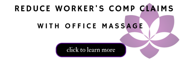 reduce workers comp claims with office massage