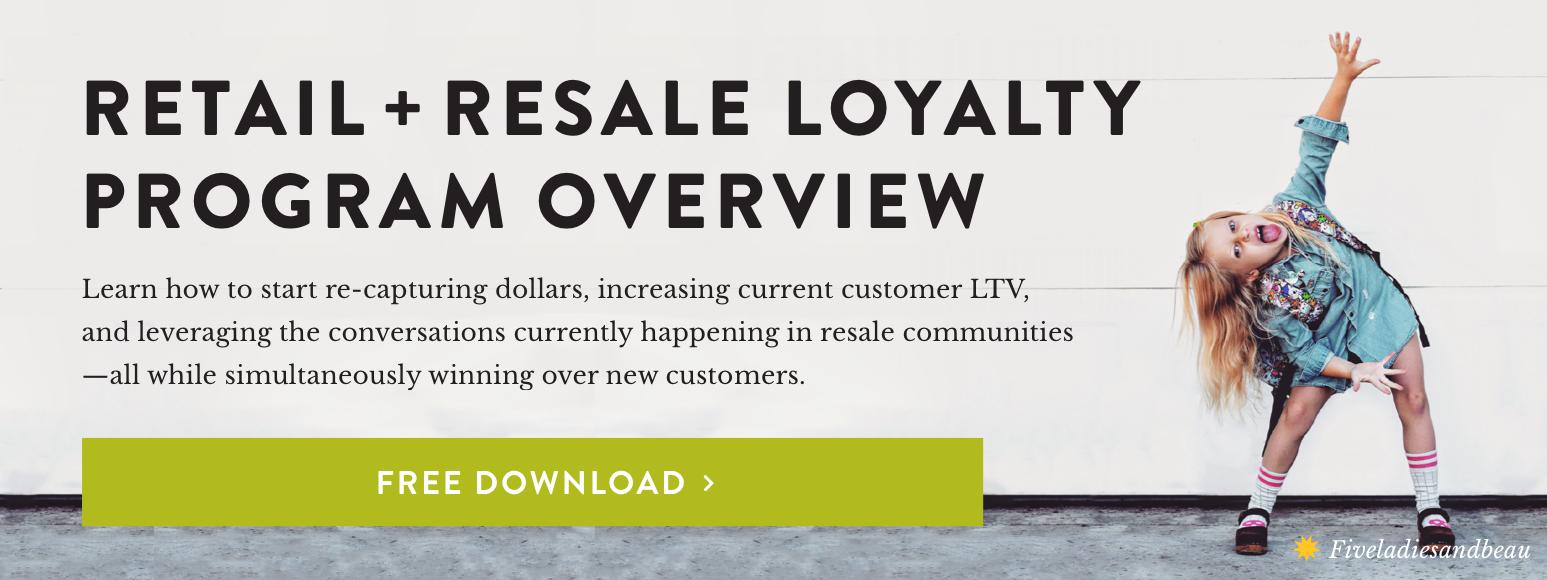 Retail + Resale Loyalty Program