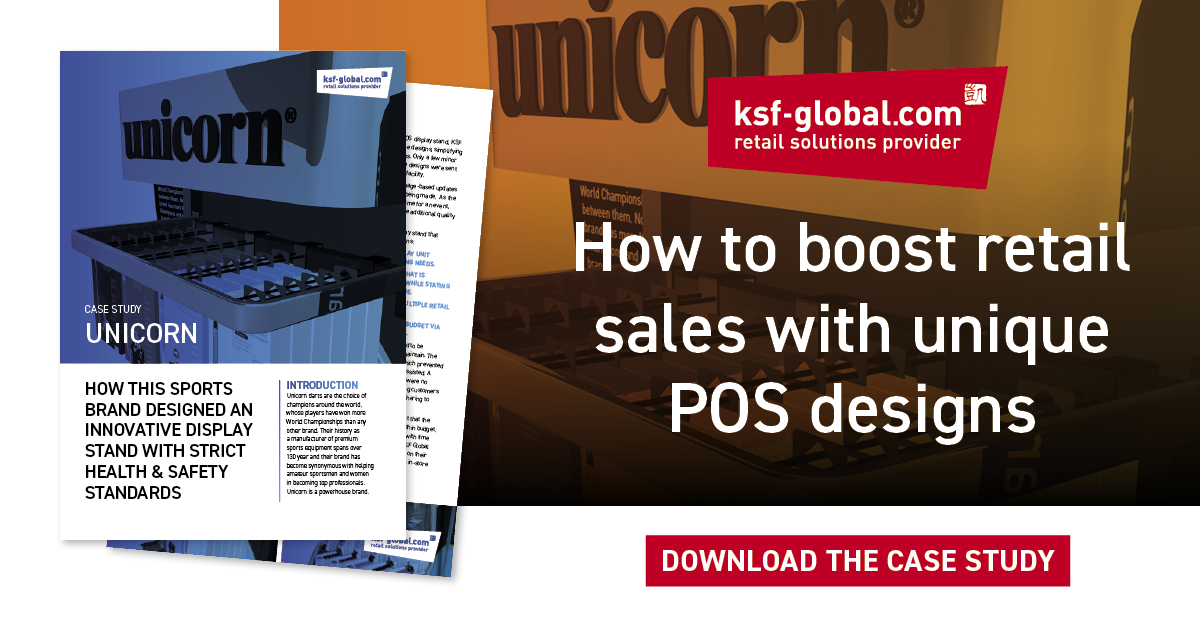 Boost retail sales with unique POS display stand