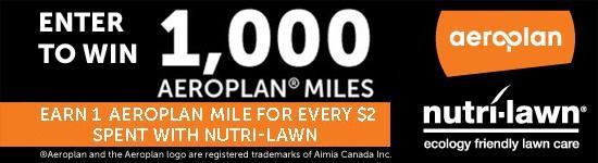 nutrilawn aeroplan 1000 contest