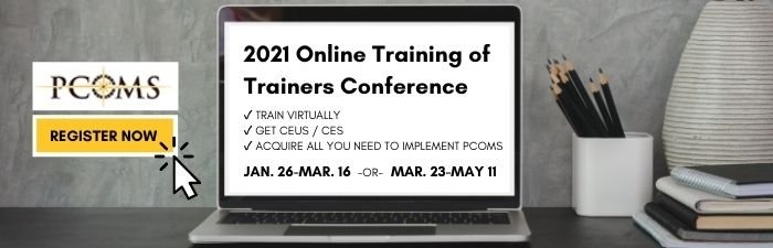2020 Training of Trainers Conference | PCOMS | Better Outcomes Now