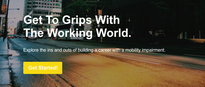 Mobile Stairlift | Explore the ins and outs of building a career with a mobility impairment.