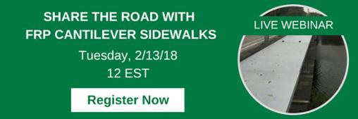 FRP Cantilever Sidewalks