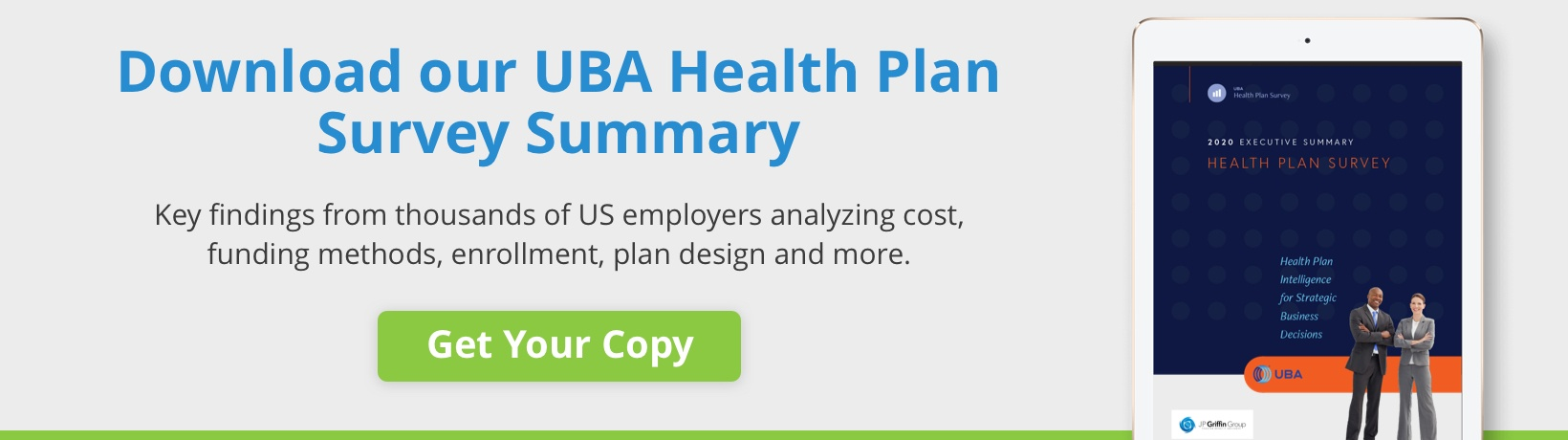 Download our UBA Health Plan Survey Summary