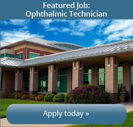 Featured Job: Illinois Eye Center is currently looking for a Ophthalmic Technician. Apply today!