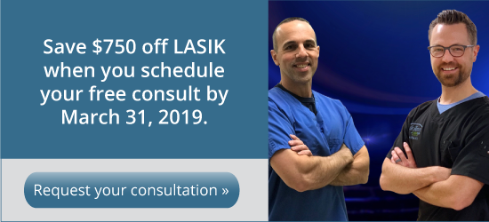 Save money on your LASIK