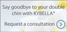 Say goodbye to your double chin with KYBELLA. Request a consultation.