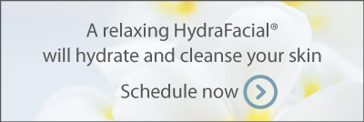 A relaxing HydraFacial will hydrate and cleanse your skin. Schedule now.