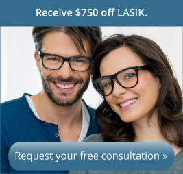 Receive $750 off the cost of LASIK. Complete your free consultation by December 31, 2016.