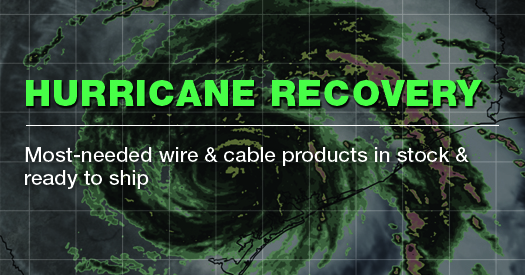 Contact TPC for the most-needed wire and cable that's in stock and ready to ship