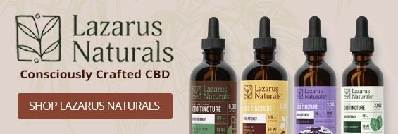 Lazarus Naturals Consciously Crafted CBD - Shop Lazarus Naturals
