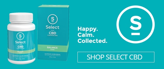 Happy. Calm. Collected. - Buy Select CBD