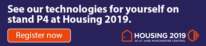 See our technologies for yourself on stand P4 at Housing 2019.