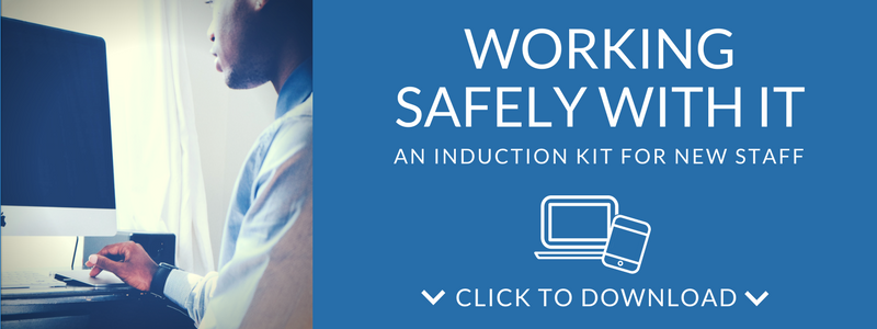 Download the IT Induction kit for new staff