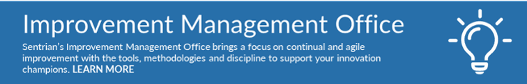 Learn more about Sentrian's Improvement Management Office