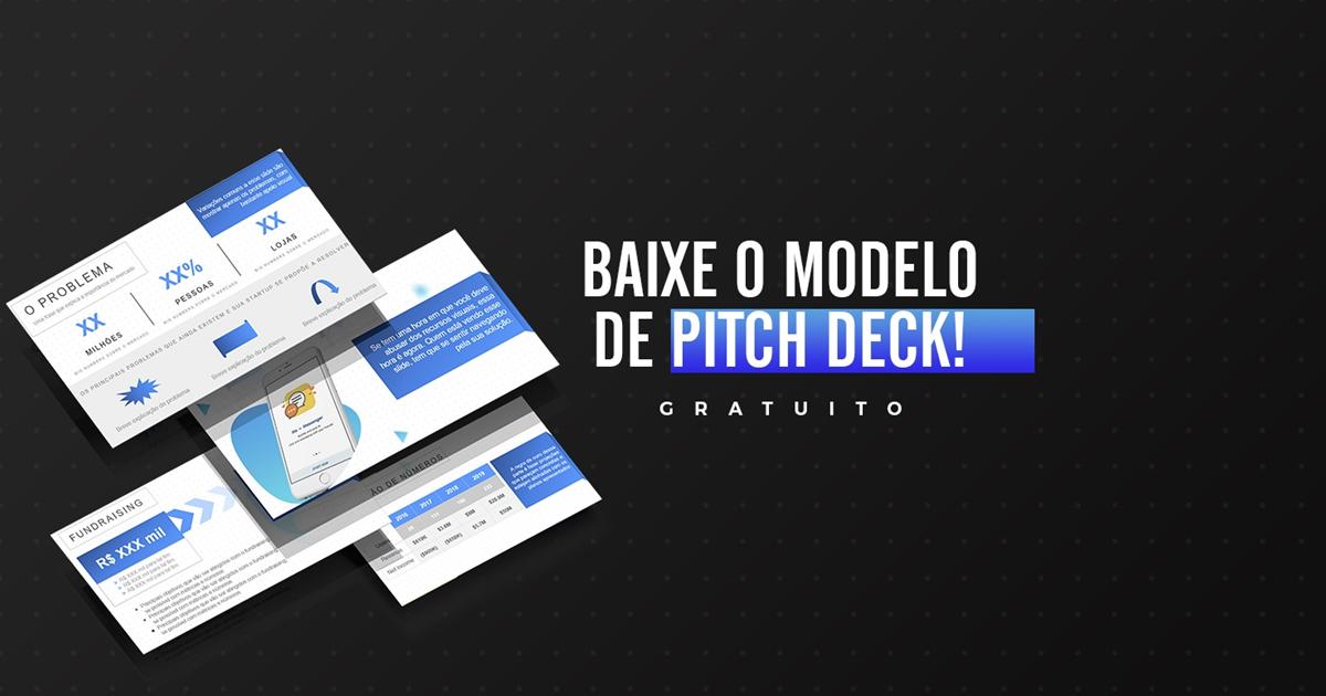 Baixe o modelo de pitch deck gratuito