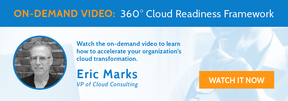 Live Webinar: 360° Cloud Readiness Framework