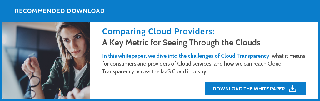 Comparing Cloud Providers