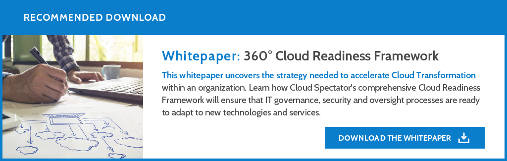 Download: Cloud Readiness Framework Whitepaper