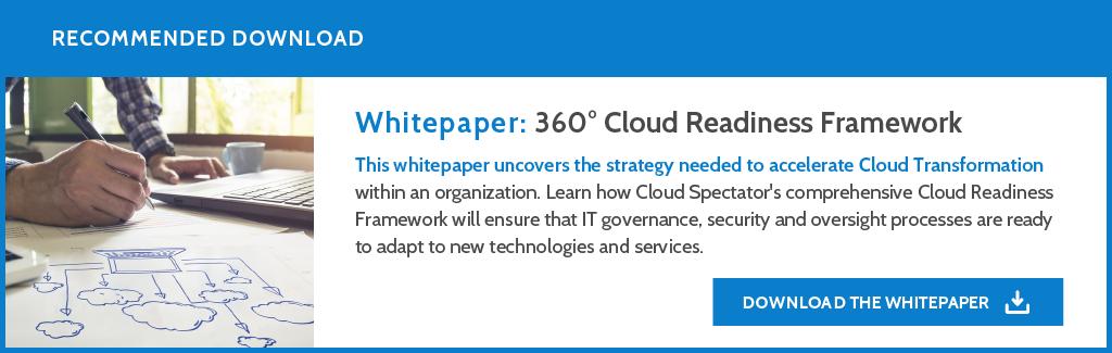 Download: Cloud Readiness Framework Whitepaper