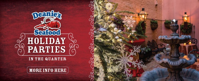 French Quarter Holiday Private Party Venue