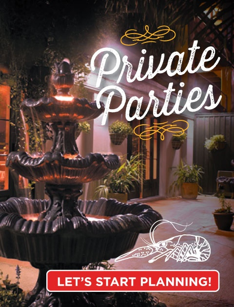 Private Parties French Quarter Venue New Orleans