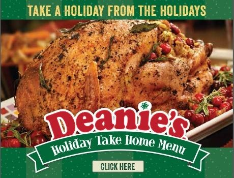 Order Now Deanies Seafoods Holiday Take Home Menu